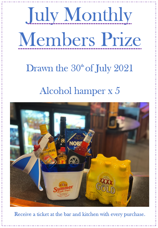 July monthly draw